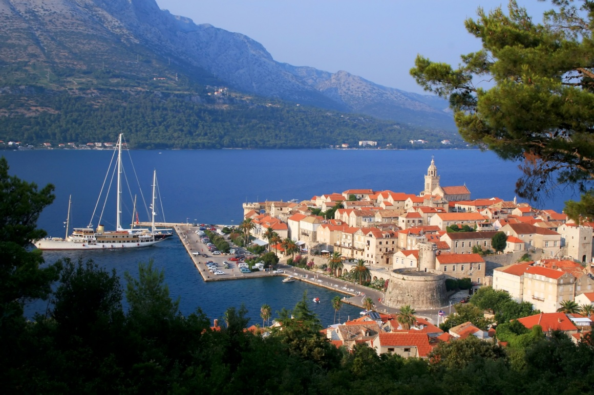 'Korcula island and the city, Croatia' - Dubrovník