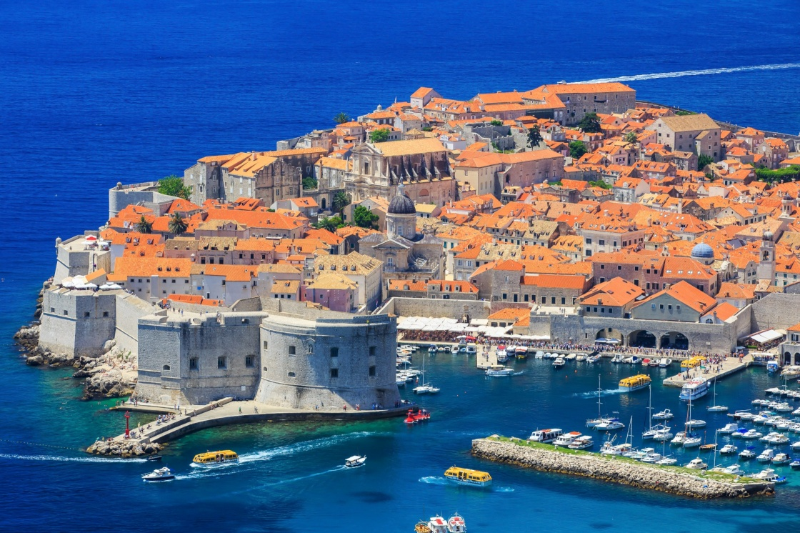 'The walled city of Dubrovnik, Croatia' - Dubrovník